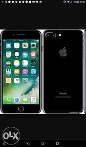 IPhone 7 plus 32 gb nov