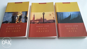 Donna Leon - 3 knjige