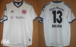Adidas Orginal Bayern Munchen Ballack dres S/M