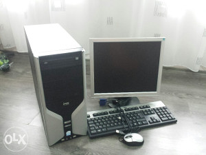 Racunar, pc ms dual core 2.5ghz, 2gb ram, 160gb hdd..