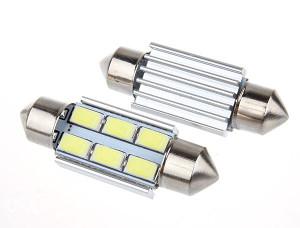 Led Rebraste Sijalice CAN BUS Tablice Unutrasnjost 36mm