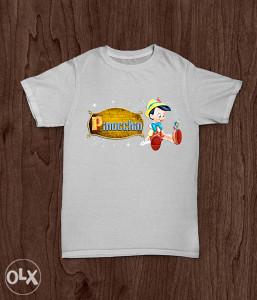 SuperMajice | CRTANI FILMOVI | Pinocchio majica