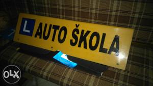 Reklama za auto skolu