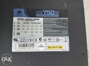 Modularna Napojna Jedinica CORSAIR HX 750W