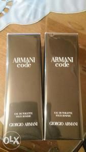 Parfem. Armani code