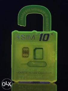 R sim 10 + otključava Iphone 4,4s,5,5s,6,6s