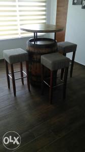 Ugostiteljski stol ##Bure## sa 4 stolice