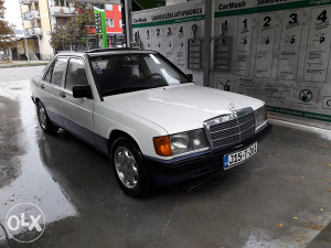 Mercedes 190 d TEK REGISTROVAN 5 brzina