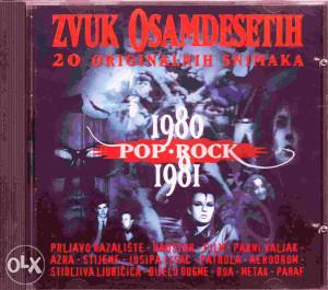 Zvuk 80-ih POP-ROCK- 5CD