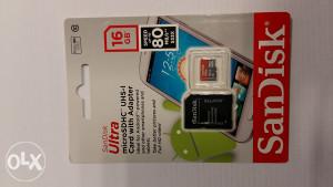 Micro SD 16GB San Disk Ultra