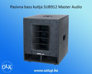 Pasivna bass kutija SUB912 Master Audio
