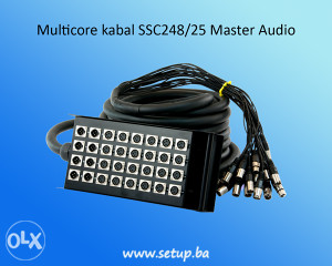 Multicore kabal SSC248/25 Master Audio