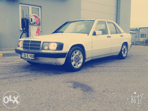Mercedes 190 e plin