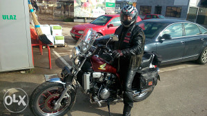 Honda VF750 Custom
