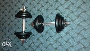 Bučice 8x1.25 kg  4x0.50 kg i 2 šipke