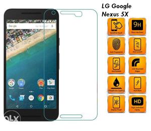 LG Google Nexus 5X Tempered Glass