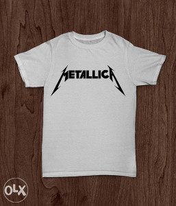 SuperMajice | MUZIKA | Metallica majica