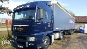 Kamion MAN EUR5 i ŠLEPA Schwarzmuller