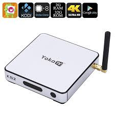 Android TV Box YOKA KB2; CPU S912 Octa Core; 2GB/32GB