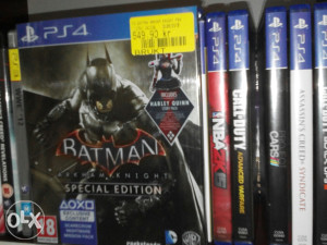 PS4 Batman Arkham Knight Special EDITION
