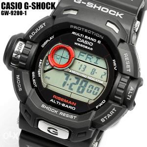 SAT CASIO G-SHOCK GW 9200