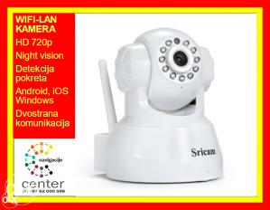 WiFi LAN IP Camera Sricam 720p MicroSD Night vision