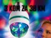 DISKO SIJALICA RGB 3 za 38 KM