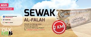 MISWAK = 2 KM