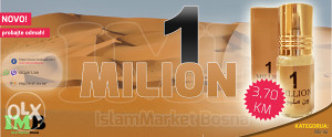 ONE MILLION 3 ml (uljani miris)