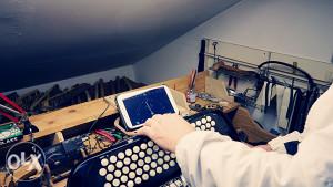 Profesionalni servis za popravku svih vrsta harmonika