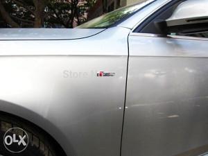 Audi S line znak metalni, A3,4,5,6,7,8