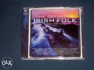 CD The Definitive Irish Folk