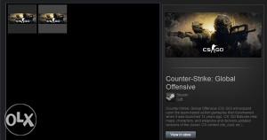 STEAM Counter Strike Global Offensive CS:GO GIFT
