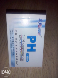 PH tester, lakmus papir, PH indikator