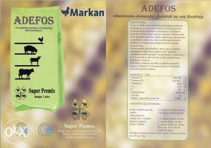 Adefos - vitaminsko mineralni dodatak stočnoj hrani