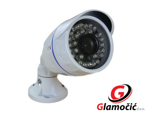 VIDEO NADZOR COLOR KAMERA 1200TVL