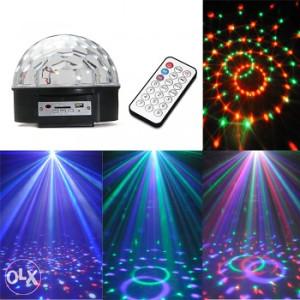 LED RGB DISKO MAGICNA KUGLA sve boje