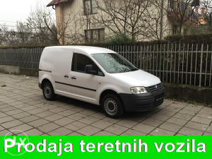 Vw caddy model 2007