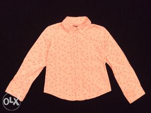 H&M baby roza kosuljica 122