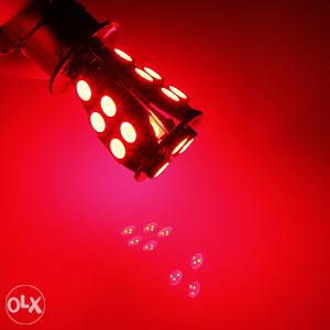 BAY15D 18 SMD crvena  P21 / 5W LED žarulja
