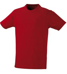 T majica kratki rukav crvena