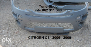 CITROEN C3 BRANIK 2006 - 2009 NOVO