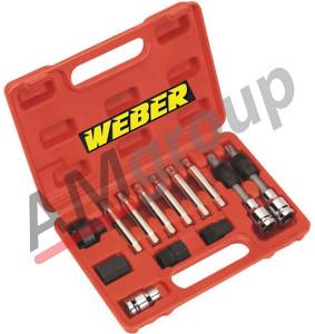 Alat za odvrtanje remenica alternatora 13 kom WE-66522