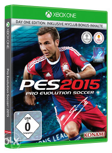 Pro Evolution Soccer 2015 Day 1 Edition (Xbox One) PES