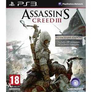 Assassins Creed III 3 (Playstation 3 - PS3)