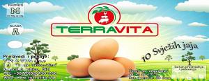 Svjeza Kokosija Jaja - konzumna jaja (KOZARSKA DUBICA)