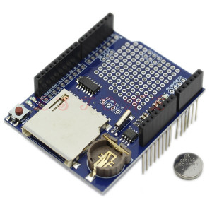 V1.0 for Arduino SD card data logger recorder shield