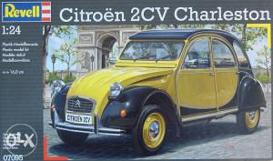 Maketa automobil Citroen 2CV Spaček Dijana _ M_