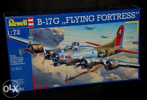 Maketa avion B-17G Flying Fortress _ M_
