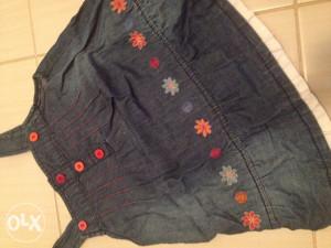 haljinica za djevojcice jeans